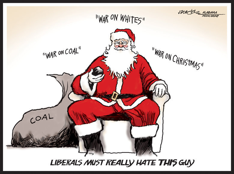 Christmas in a Liberal controlled media