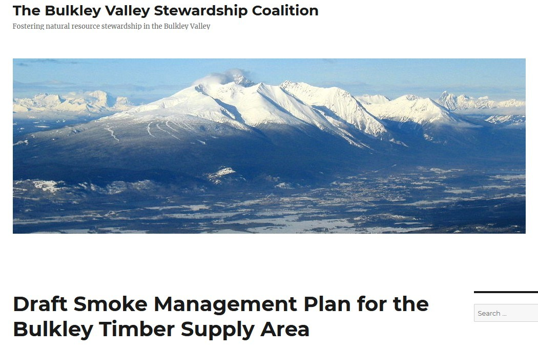 Bulkley Valley Stewardship Coalition – Eco-Radical Organizations
