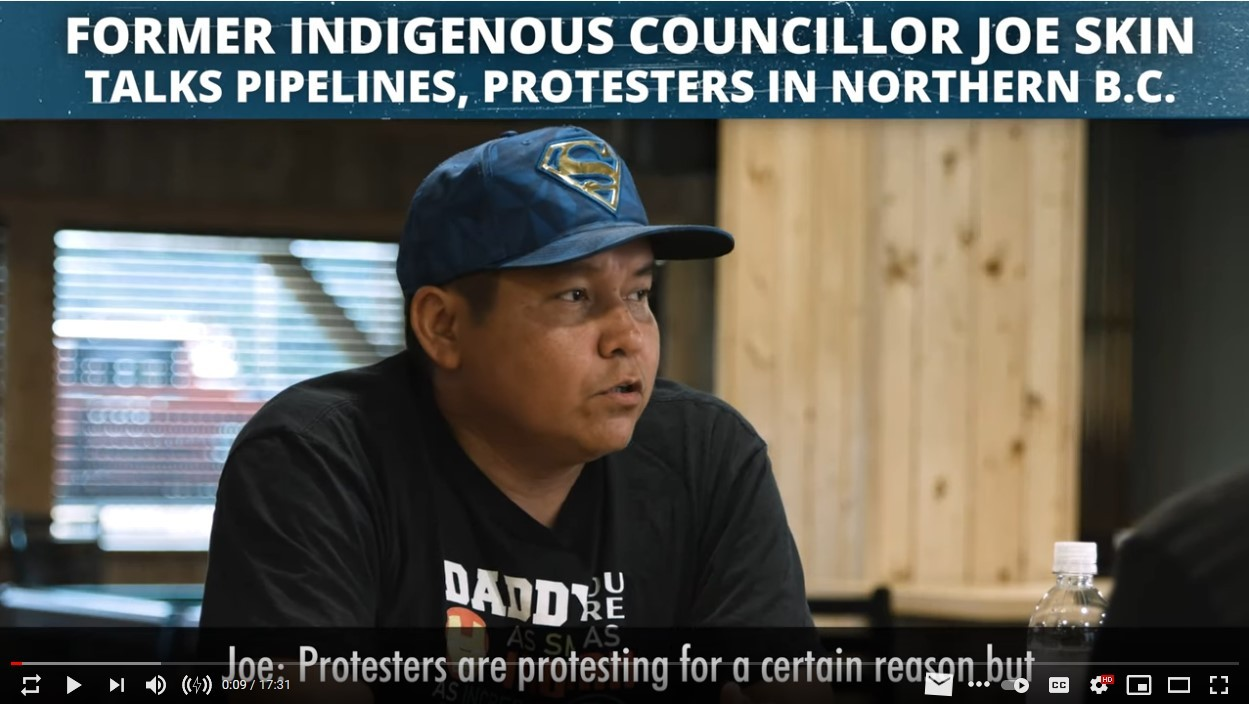 Real Indigenous Leader Speaks Out on Pipelines, Politics and Protesters – Video by Aaron Gunn